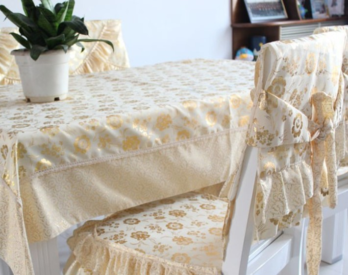 Modern-fashion-gold-stamp-jacquard-table-cloth-embroidery-table-cloth-font-b-black-b-font-font