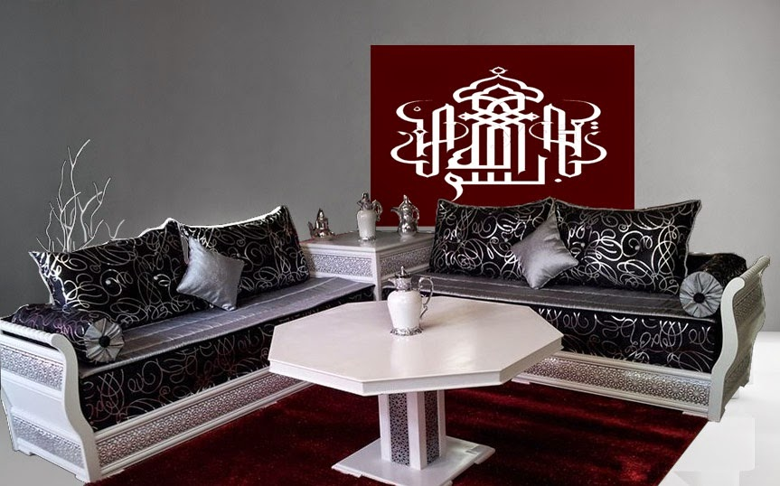 tapis salon blanc et gris avec des id es. Black Bedroom Furniture Sets. Home Design Ideas